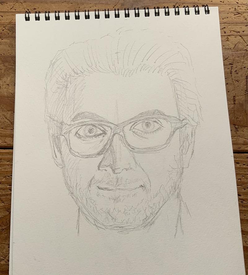 人物画を描いてみた