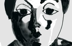 アウレンスキーの作品を模写