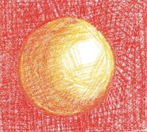 色鉛筆画の練習1